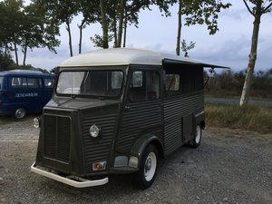 1974 Citroen HY van, ideal food truck, new paint.