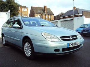 2003 Citroen C5 HDI SX – ONE OWNER FROM NEW – WITH EXCELLENT S/H
