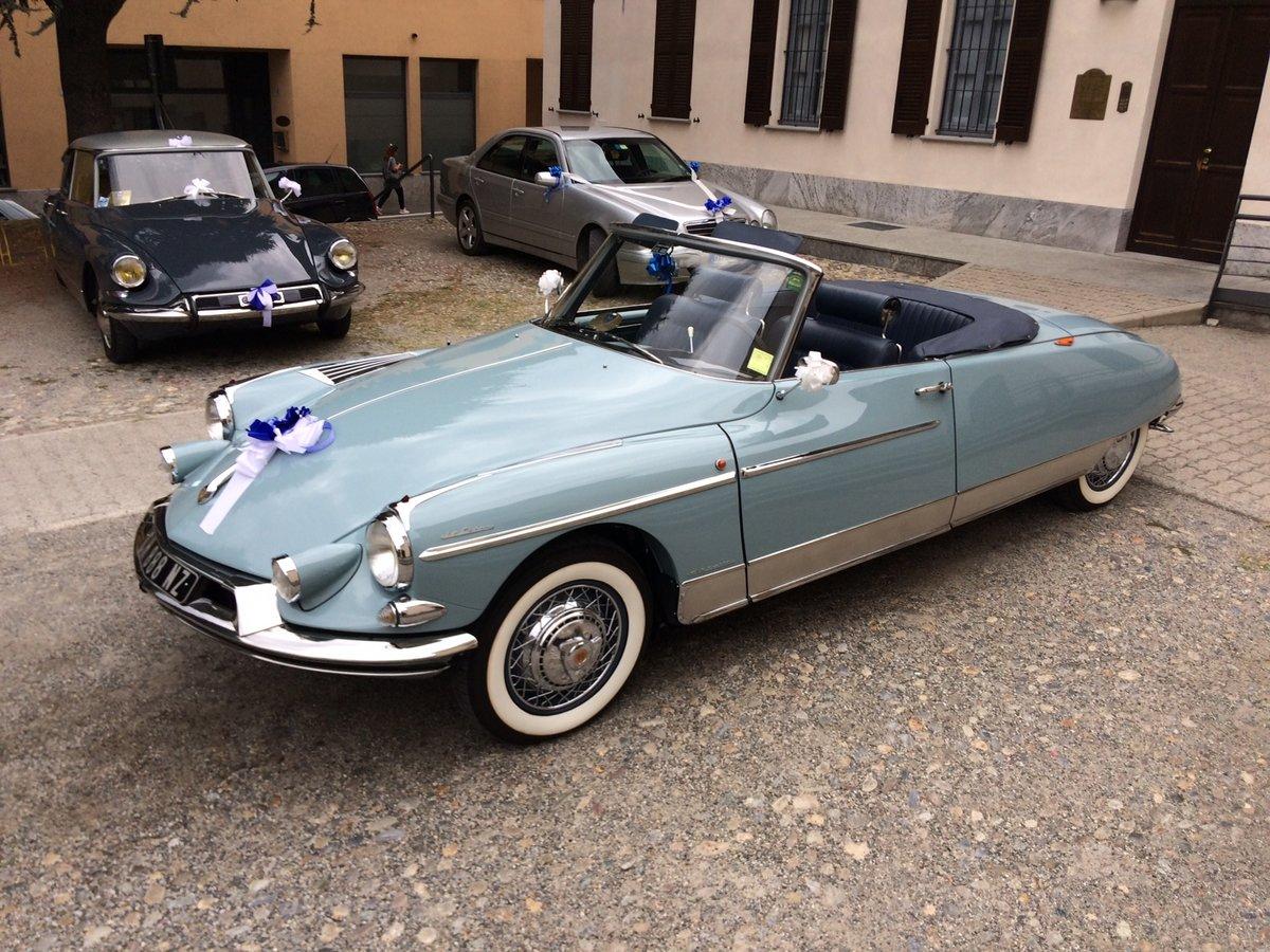1960 Citroen ds 19 cabriolet le caddy chapron For Sale (picture 1 of 6)