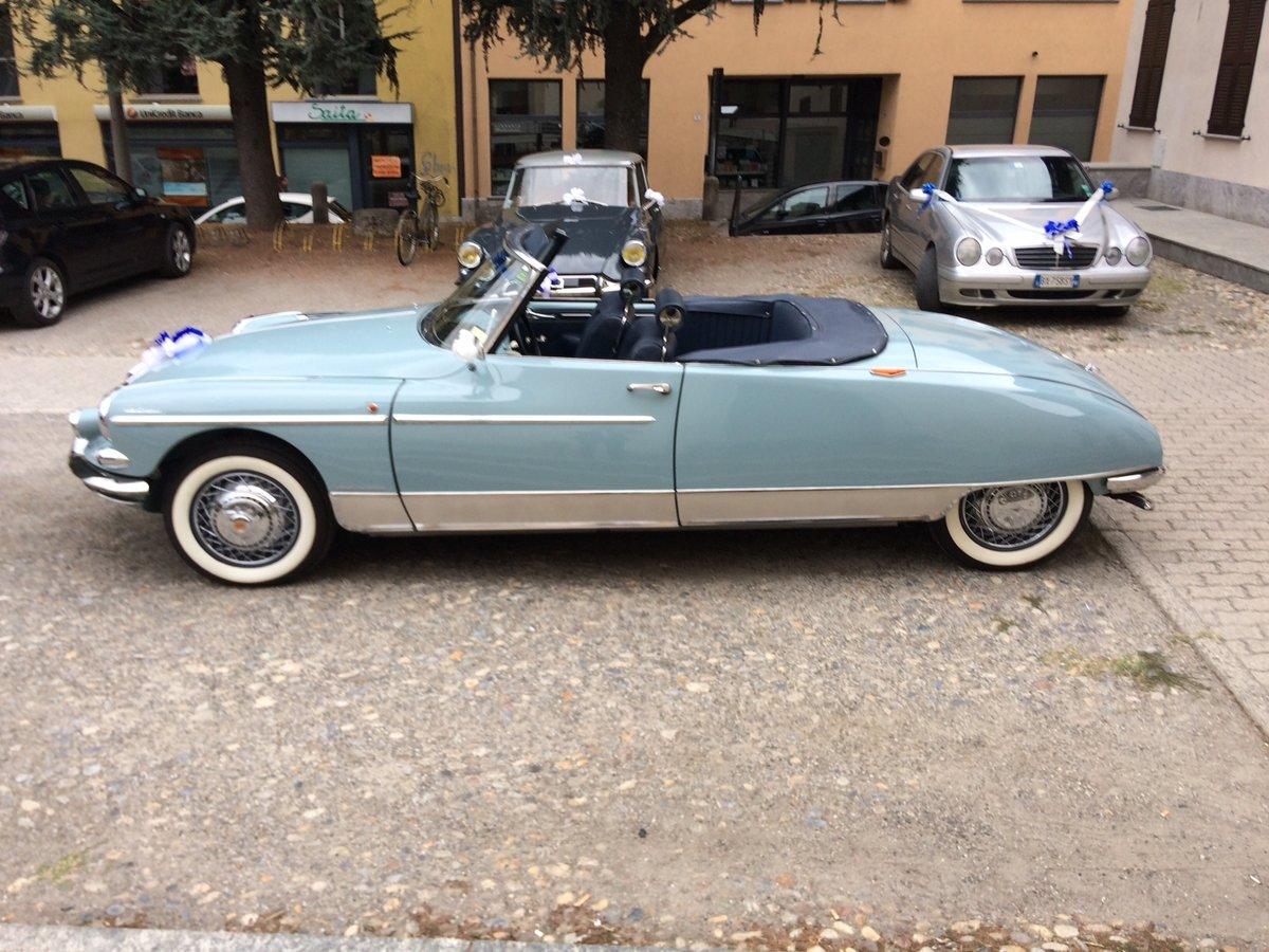 1960 Citroen ds 19 cabriolet le caddy chapron For Sale (picture 2 of 6)
