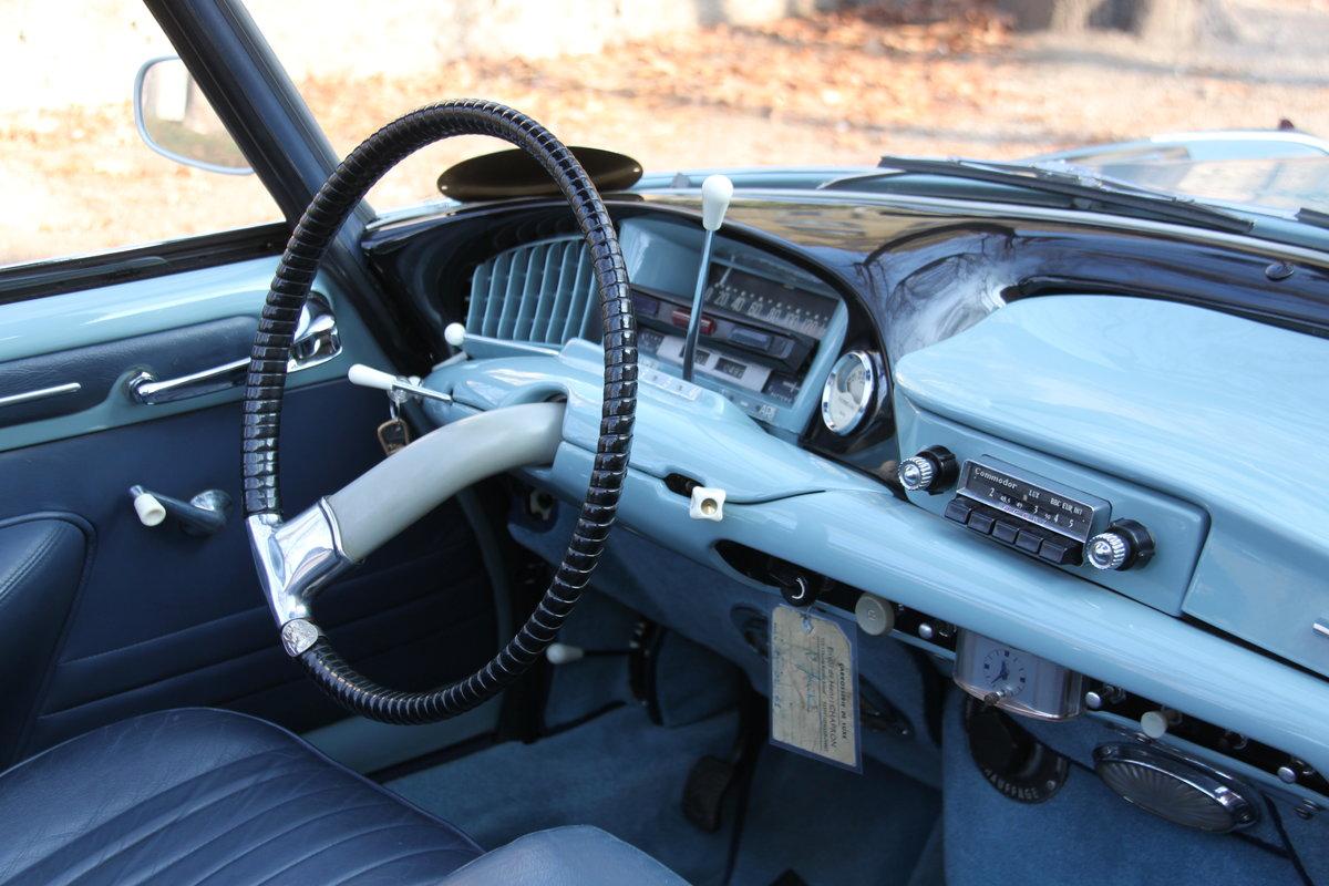 1960 Citroen ds 19 cabriolet le caddy chapron For Sale (picture 4 of 6)