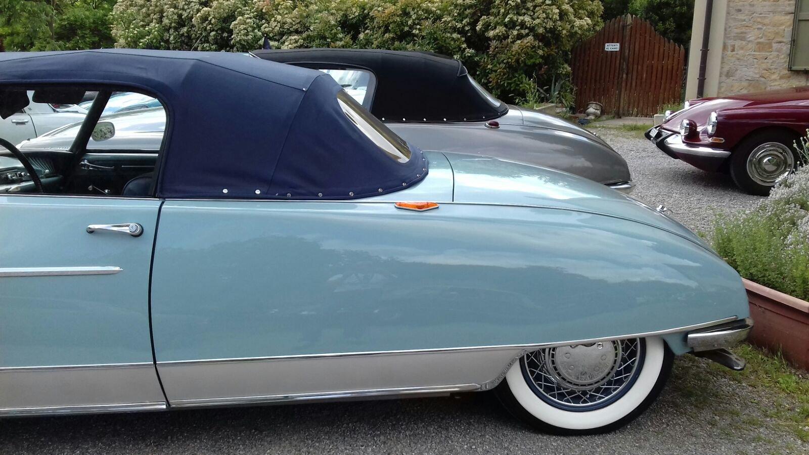 1960 Citroen ds 19 cabriolet le caddy chapron For Sale (picture 5 of 6)
