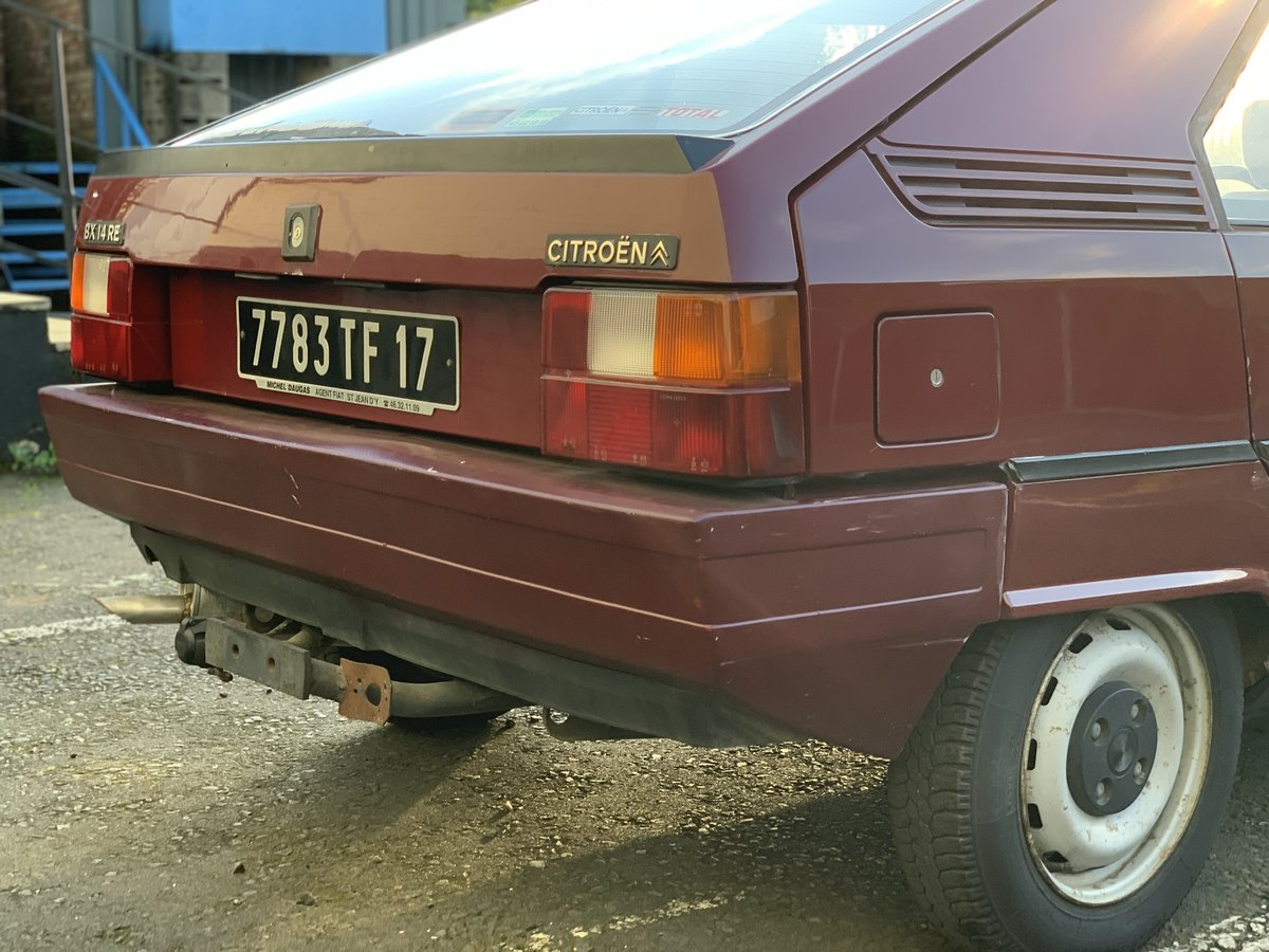 1984 Citroen BX 14re For Sale (picture 5 of 6)