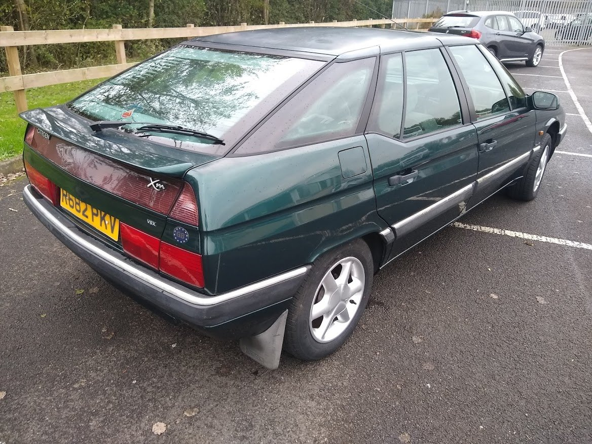 1998 Citroen XM VSX Turbo Auto for Auction 16th - 17th July SOLD by Auction (picture 4 of 6)