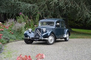 1956 – Citroen Traction 11 BL For Sale by Auction