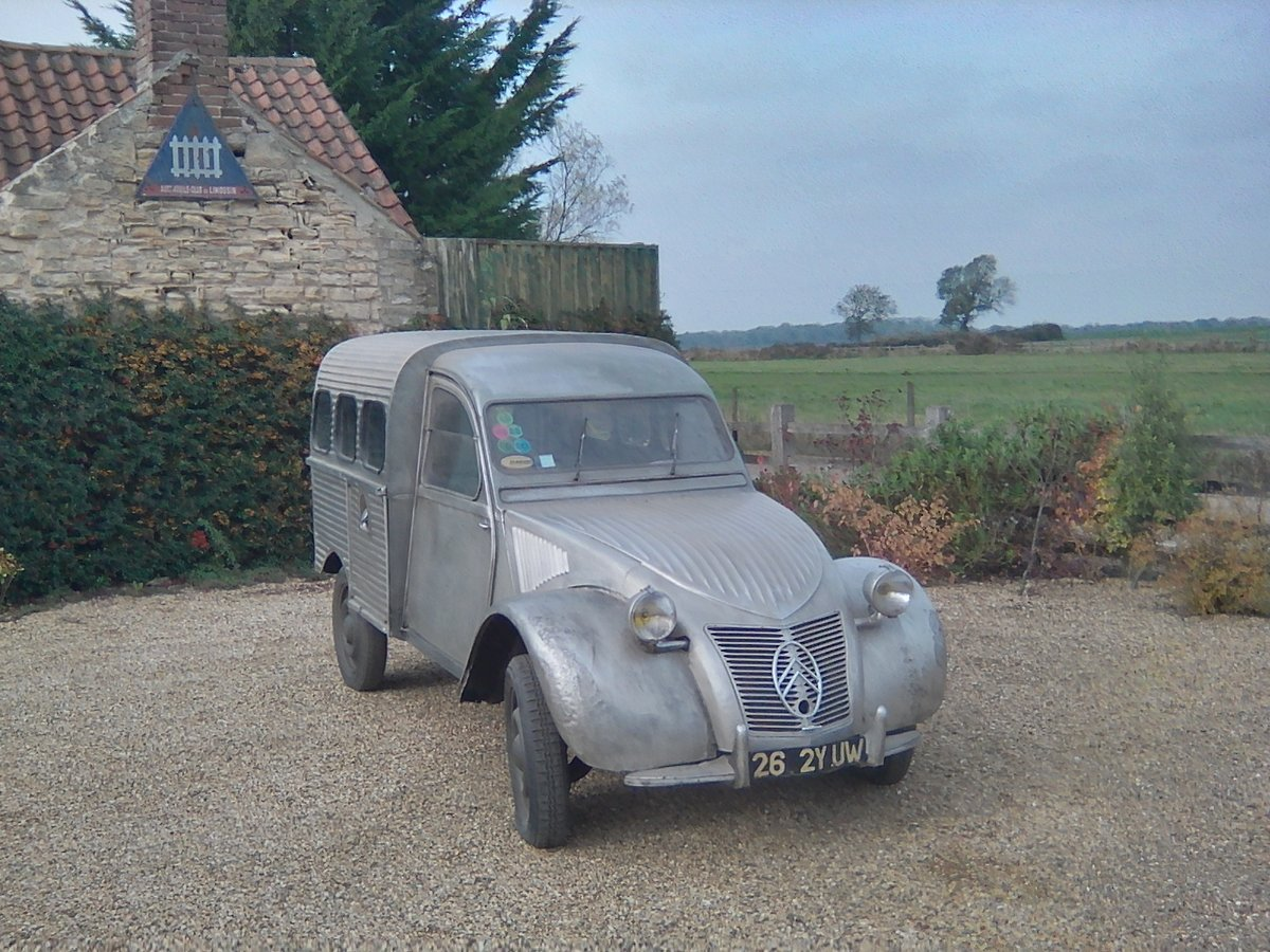 1952  2CV Citroen   AU  Series Van   RIPPLE BONNET For Sale (picture 1 of 6)
