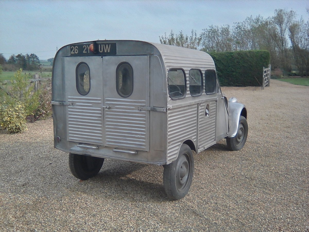 1952  2CV Citroen   AU  Series Van   RIPPLE BONNET For Sale (picture 2 of 6)