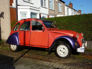 1984 2CV6 seeks warm garage - £4,950 For Sale