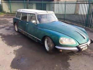 1973 CITROEN DS SAFARI ESTATE CAR LEFT HAND DRIVE  For Sale