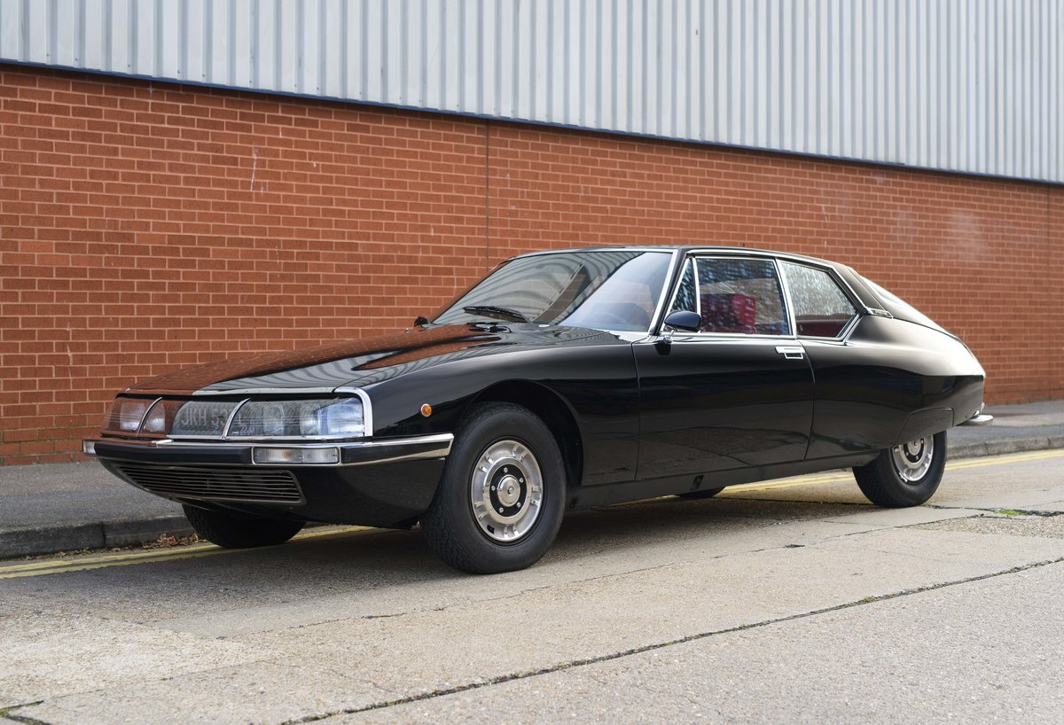 1973 Citroen-Maserati SM For sale in London For Sale (picture 1 of 23)