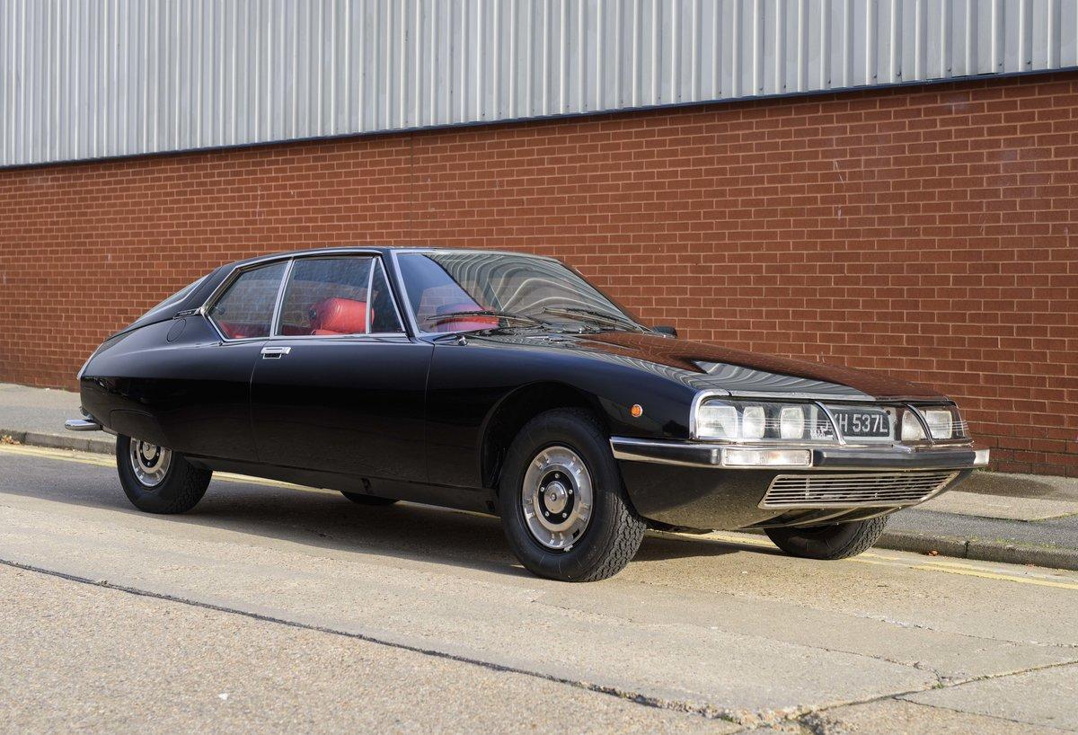 1973 Citroen-Maserati SM For sale in London For Sale (picture 2 of 23)