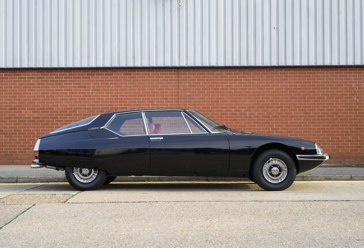 1973 Citroen-Maserati SM For sale in London For Sale (picture 5 of 23)