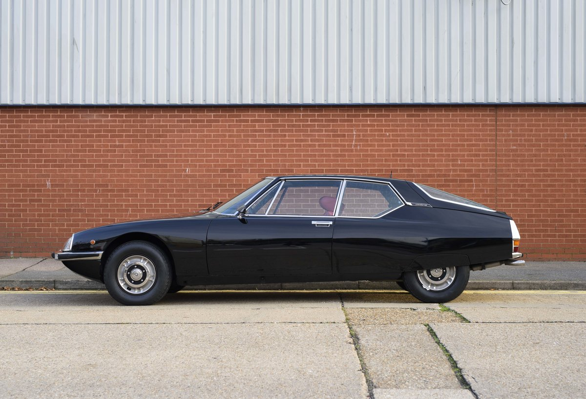 1973 Citroen-Maserati SM For sale in London For Sale (picture 6 of 23)
