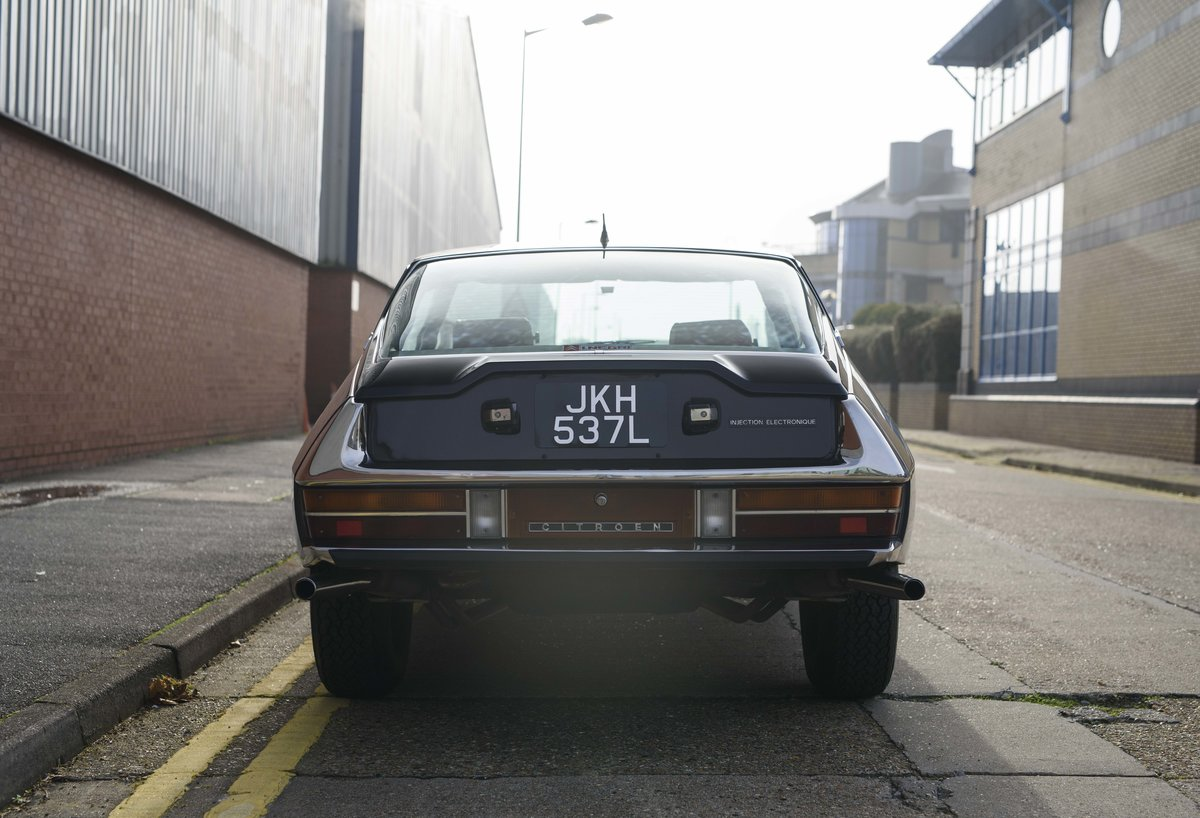 1973 Citroen-Maserati SM For sale in London For Sale (picture 8 of 23)