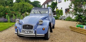 1986 2 CV6 SPECIAL Low mileage from new runs like new For Sale