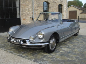 Picture of 1962 DS19 convertible