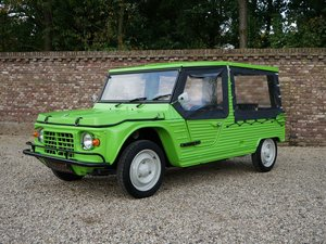 1976 Citroen Mehari 4-seater brand NEW condition, only 647 km aft For Sale
