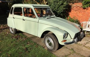 Citroen Dyane 6 1981W  602cc   For Sale