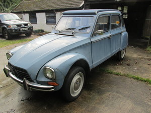 1980 citroen 2cv/dyane solid with galvanised chassis For Sale (picture 2 of 6)