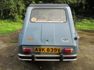 1980 citroen 2cv/dyane solid with galvanised chassis For Sale (picture 3 of 6)