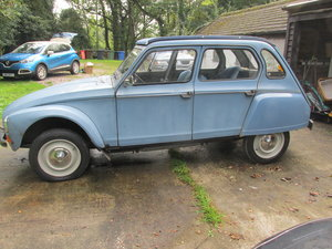1980 citroen 2cv/dyane solid with galvanised chassis For Sale (picture 4 of 6)
