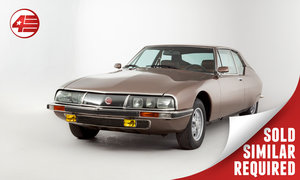1973 Citroen SM /// Rare Michelin RR wheels SOLD