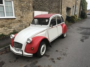 1988 Citroen 2CV Dolly,Paris built SOLD