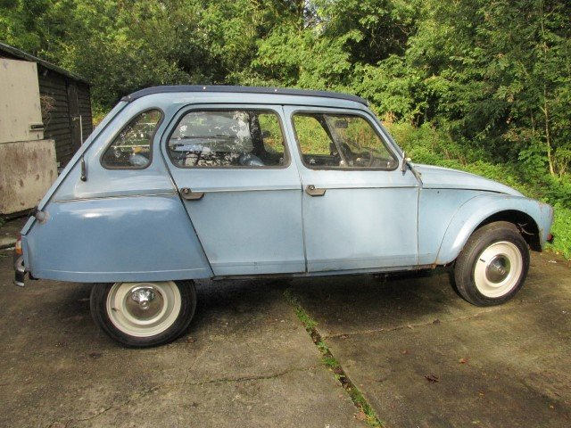 1980 citroen 2cv/dyane solid with galvanised chassis For Sale (picture 5 of 6)