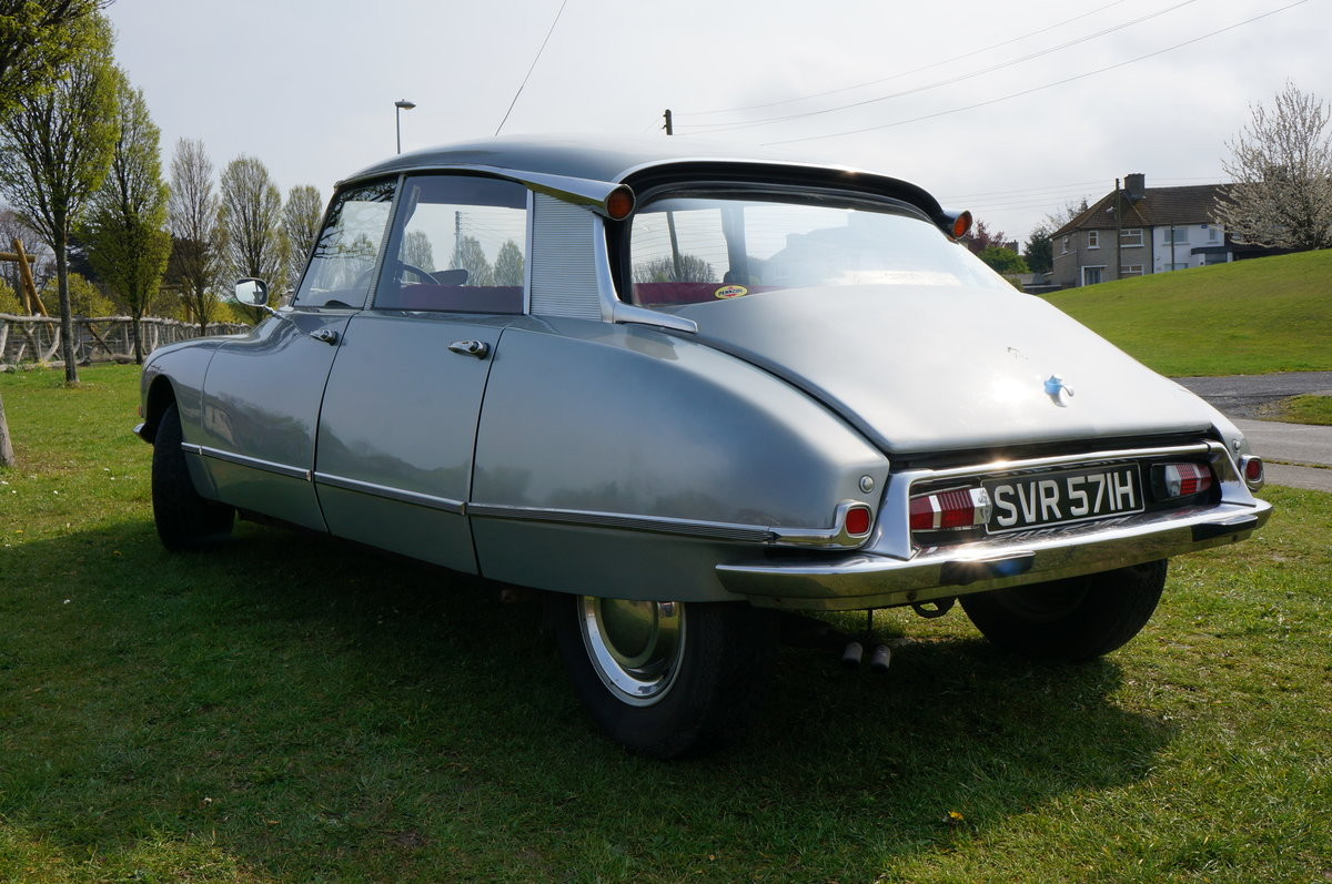 1970 Citroen DS in fabulous condition throughout  For Sale (picture 3 of 6)
