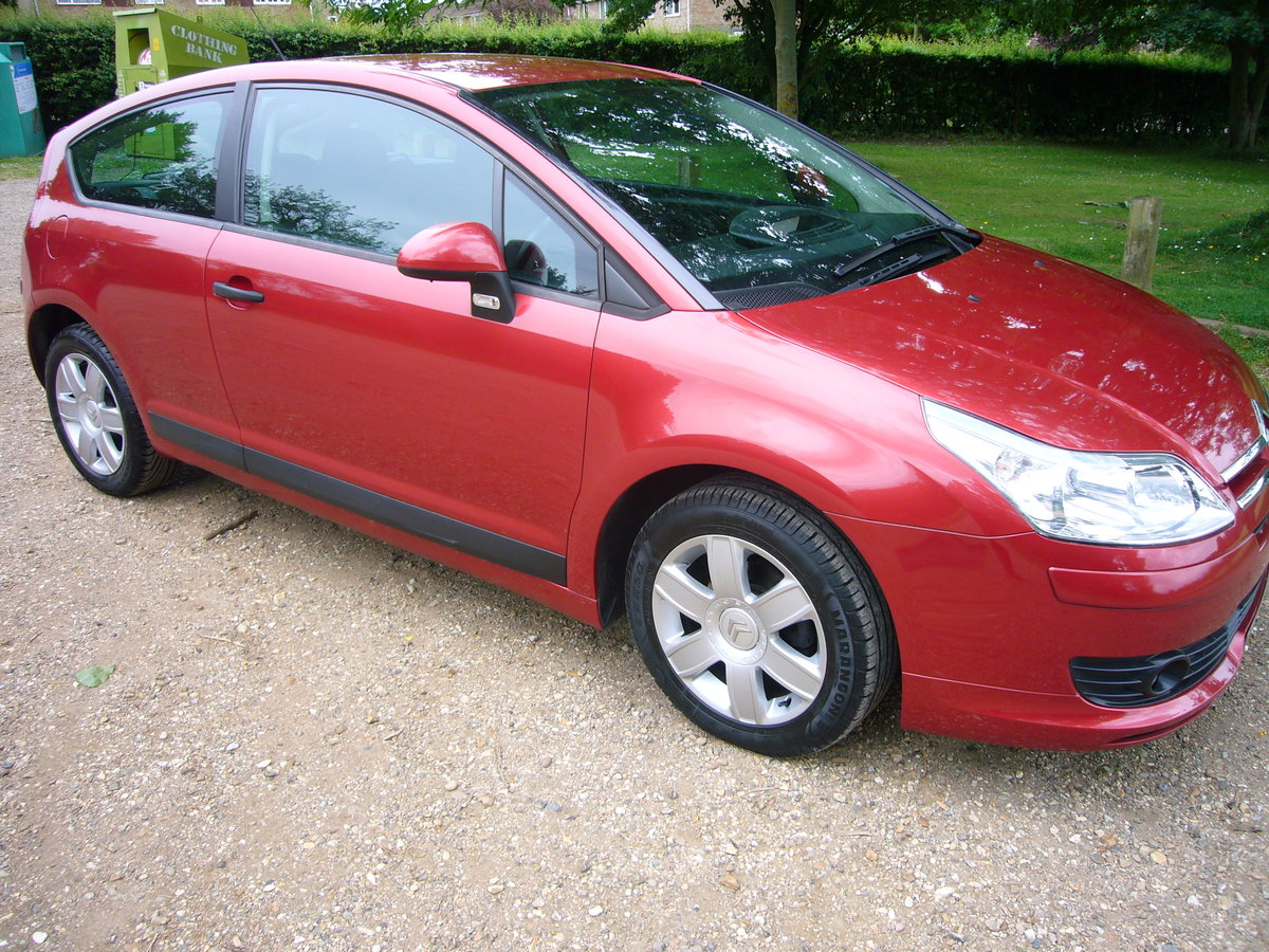 2007 CITROEN C4 COOL 1.6, 69,000 MILES For Sale (picture 1 of 6)