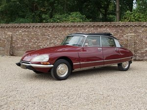 Citroen DS 23 Pallas Injection Électronique rebuilt engine,