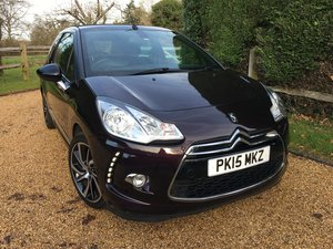 2015 DS3 DStyle Plus 1.6 VTi Cabriolet Auto SOLD