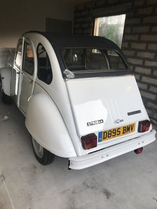 1987 Citreon 2CV6 Special - White