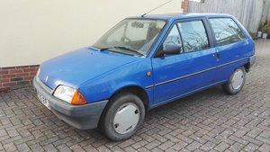 1990 Citroen AX - rare little car