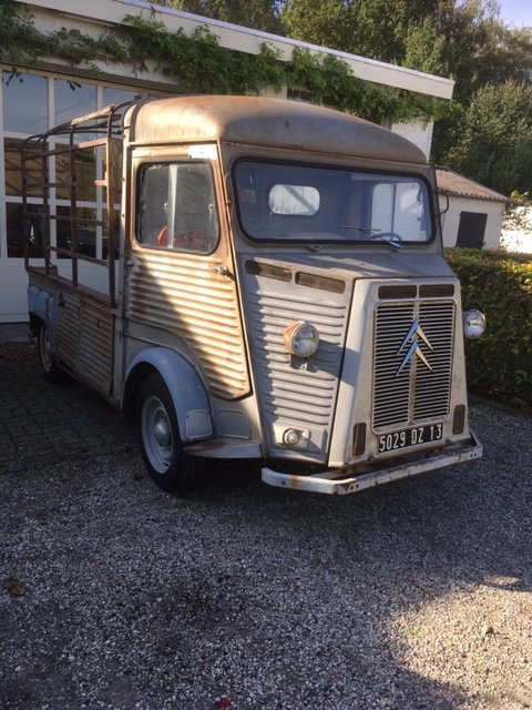 1974 citroen hy pickup from south France! For Sale (picture 3 of 5)