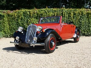 Citroen Traction 11 B restored condition