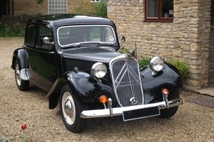 1951 Citroen Light 15 small boot, black, RHD