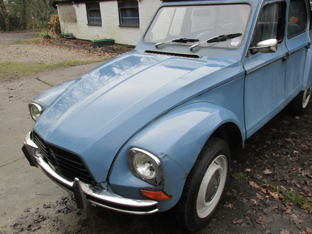 1980 citroen 2cv/dyane now sold ! now sold!!! SOLD (picture 1 of 6)