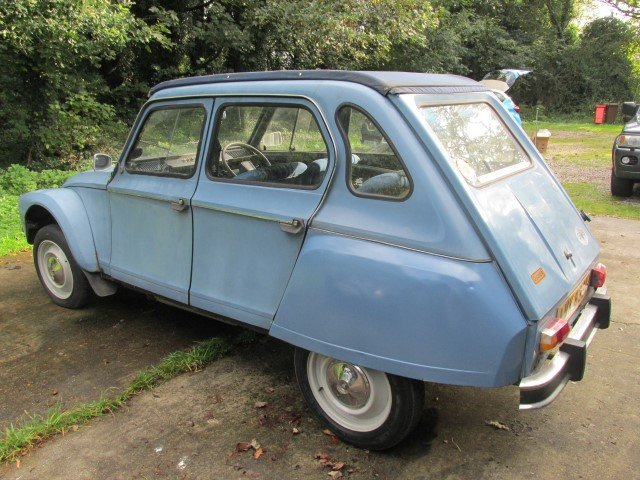 1980 citroen 2cv/dyane now sold ! now sold!!! SOLD (picture 5 of 6)