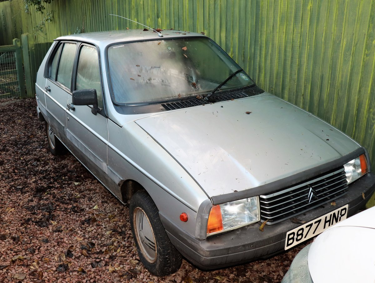 1985 Rare Citroen Visa 14 TRS sold £500 For Sale by Auction (picture 1 of 3)