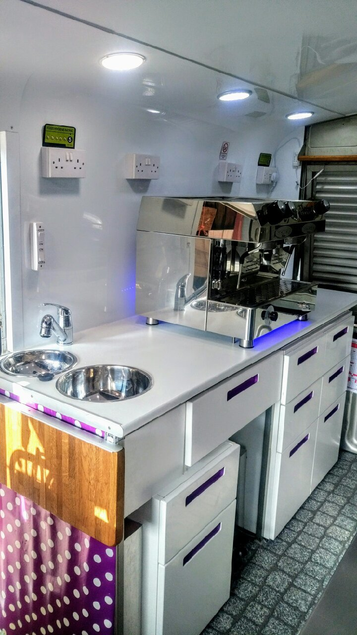 1969 Citroen H Catering van coffee & crepes For Sale (picture 1 of 5)