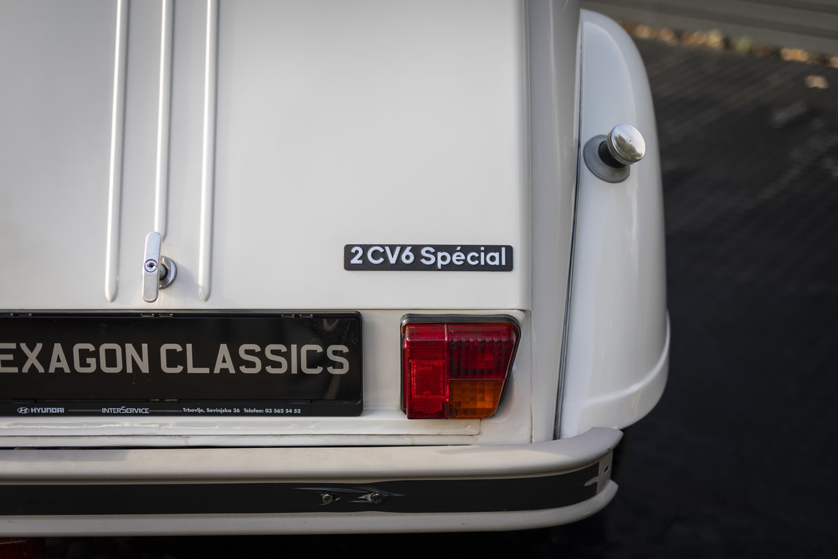 1988 Citreon 2CV CLUB LHD SOLD (picture 16 of 23)