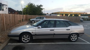 1997 Citroen XM with towbar