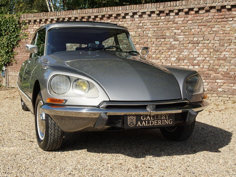 1972 Citroen DS 23 Pallas Injection manual 5-Speed, sunroof, stun For Sale (picture 5 of 6)