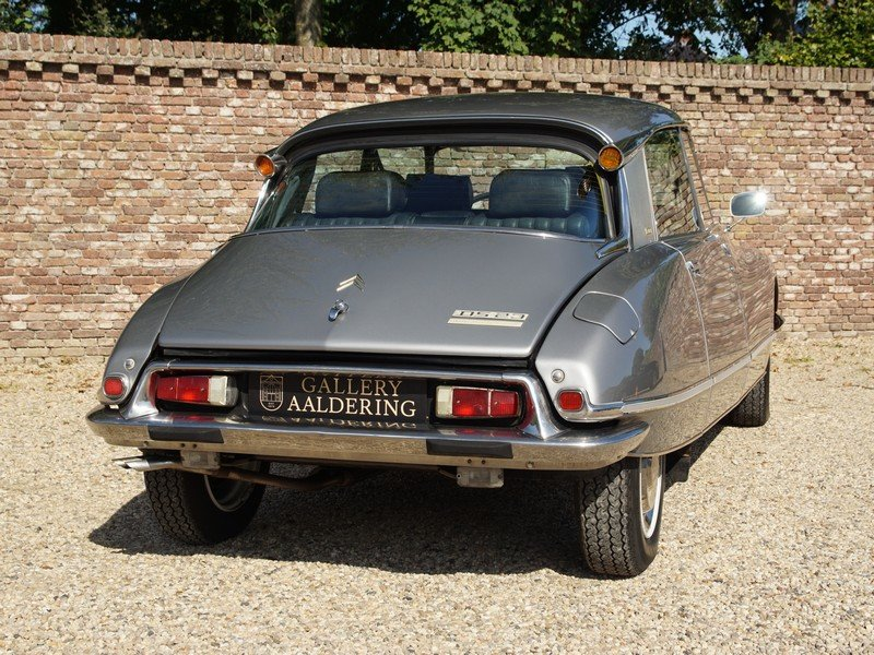 1972 Citroen DS 23 Pallas Injection manual 5-Speed, sunroof, stun For Sale (picture 6 of 6)