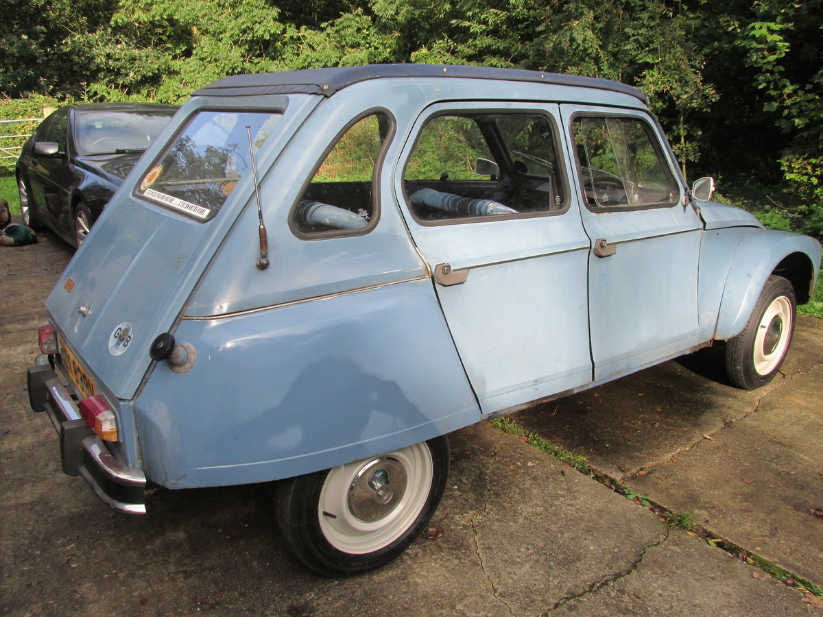 1980 citroen 2cv/dyane now sold ! now sold!!! SOLD (picture 6 of 6)
