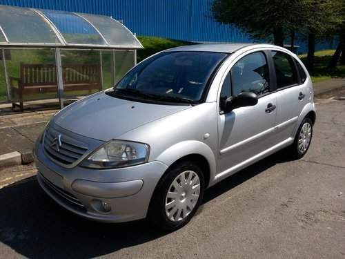 2003 CITROEN C3 1.4 EXCLUSIVE AUTO F/S/H 37,356 MILES For Sale (picture 1 of 6)