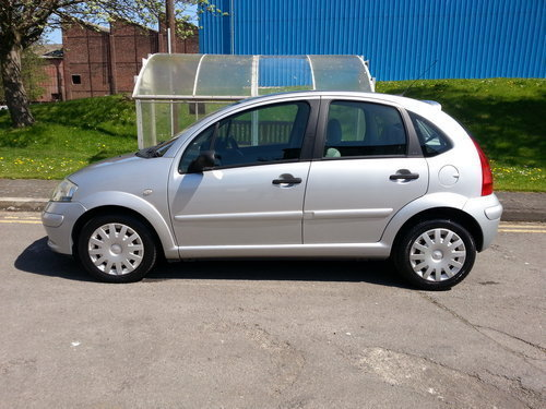 2003 CITROEN C3 1.4 EXCLUSIVE AUTO F/S/H 37,356 MILES For Sale (picture 3 of 6)