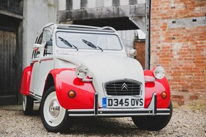 1987 Citroen 2 CV6, great condition all over