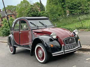 2CV Charleston Exchange for another classic